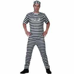 Gevangenen kleding feest mannen
