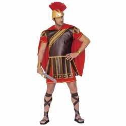 Gladiator kleding rood-bruin heren