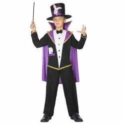 Goochelaar verkleed pak/kleding feest kinderen