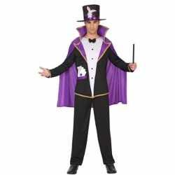 Goochelaar verkleed pak/kleding feest volwassenen