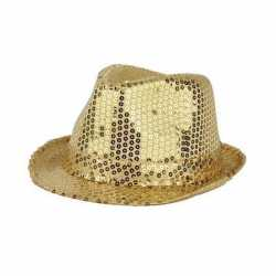 Gouden hoeden glitters