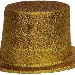 Gouden hoedje feest volwassenen