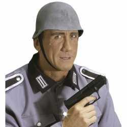 Grijze oorlog helm van rubber