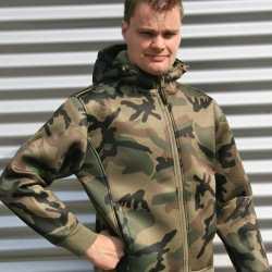 Groen camouflage vest