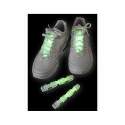 Groen glow schoen lichtstaafje