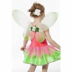 Groene vlinder vleugels feest kinderen