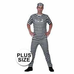 Grote maat gevangenen kleding
