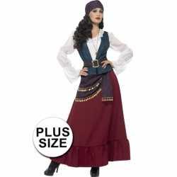 Grote maten feest piraat verkleedkleding feest dames