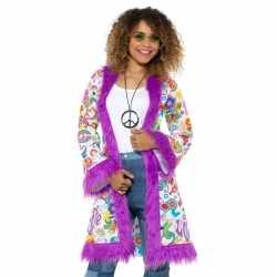 Hippie groovy jas feest dames