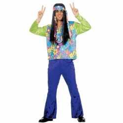 Hippie verkleedkleding feest heren