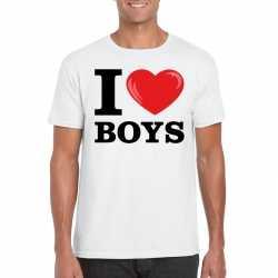 I love boys t shirt wit heren