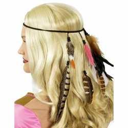Indianen hoofdband veren