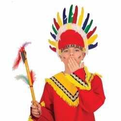 Indianen tooi feest kinderen