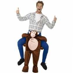 Instap dierenpak kleding aap feest volwassenen