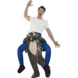 Instap dierenpak kleding dinosaurus feest volwassenen