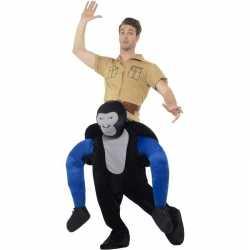 Instap dierenpak kleding gorilla feest volwassenen