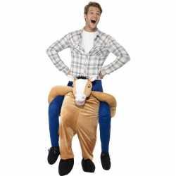 Instap dierenpak kleding paard feest volwassenen