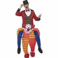 Instapkleding circus clown feest volwassenen