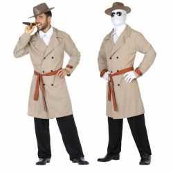 Invisible man/detective verkleed pak/kleding feest heren