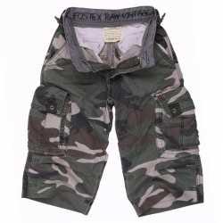 Katoenen korte camouflage broek feest kids