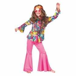 Kinder blouse gebloemd sixties