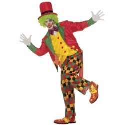 Kleding Clown volwassenen