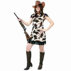 Koeienprint cowgirl jurkjes
