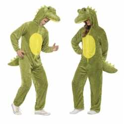 Krokodil onesie kleding feest volwassenen