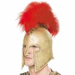 Latex helm feest een romeinse soldaat