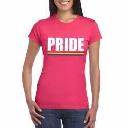 Lgbt shirt roze pride dames