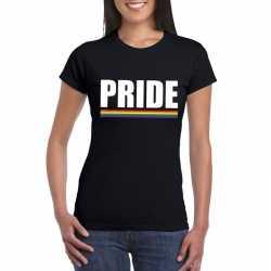 Lgbt shirt zwart pride dames
