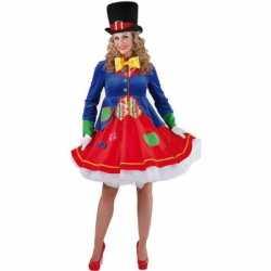 Luxe clowns jurkje lucky feest dames