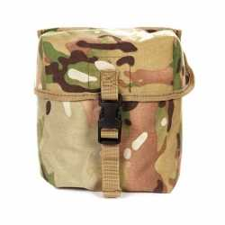 Luxe soldaten munitie tas vierkant