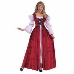 Middeleeuwse jurken feest dames