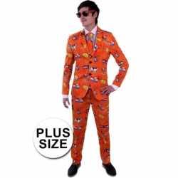 Nederland kleding grote maat pak feest heren
