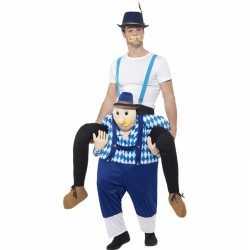 Oktoberfest verkleedkleding man op bayerische man