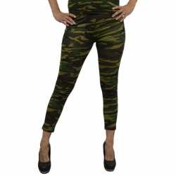 Party legging camouflage afgebeeld