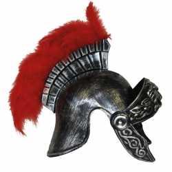 Plastic helm in romeinse stijl
