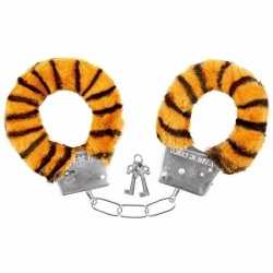 Pluche handboeien tijger feest volwassenen