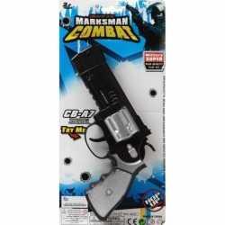 Politie/militair speelgoed pistool 35 centimeter