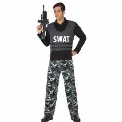 Politie swat verkleed pak/kleding feest volwassenen