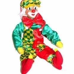 pvc wanddecoratie clowns 50 centimeter carnavalsfeestnl