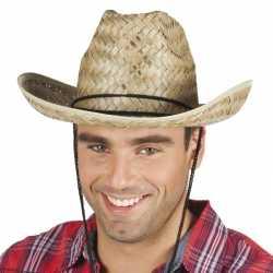 Rieten cowboyhoed dallas feest volwassenen