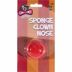Rode clown neus van foam