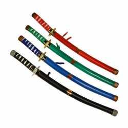 Rode ninja zwaarden