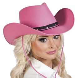Roze cowboyhoed wichita feest dames