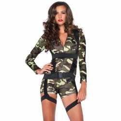 Sexy commando kleding feest dames
