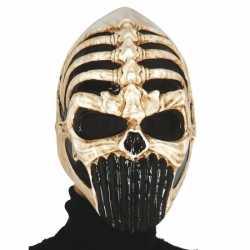 Skelet masker feest carnaval