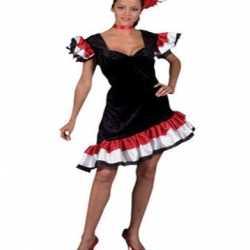 Spaanse carnavals jurk feest dames
