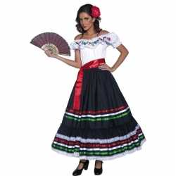 Spaanse danseres kleding feest dames